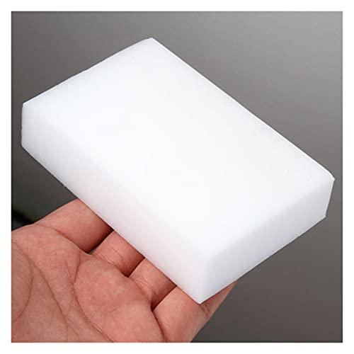 Multifunción 10 unid * Melamina Esponja Blanco Magic Sponge Brayer Melamine Cleaner Multifuncional Eco-Friendly Kitchen Magic Eraser 100 * 60 * 20mm para lavar platos en el fregadero ( Color : White )