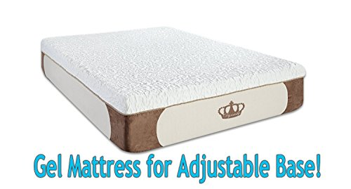 DynastyMattress Cool Breeze 12-Inch  HD GEL Memory Foam Mattress, Queen