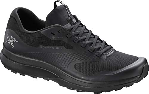 Arc'teryx Norvan LD 2 GTX Shoe Women's | Gore-Tex Trail Running Shoe | Black/Black, 9