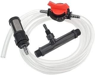 XLX 1/2'' Garden Irrigation Venturi Fertilizer Injector Venturi System Irrigation DeviceFilter Straw Water Tube Kit (1/2'')
