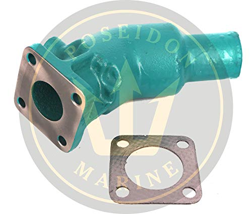 Poseidon Marine Exhaust Elbow for Volvo Penta Diesel, Replaces : 861906 21190094 MD2010 MD2020 MD2030 MD2040 D1-13 D1-20 D2-40