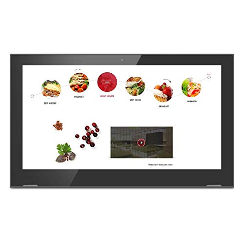 Cheap SHIFENX Touch Screen All in One PC with Holder, 1GB+8GB 17.3 inch LCD Android 6.0 RK3368 Octa-...
