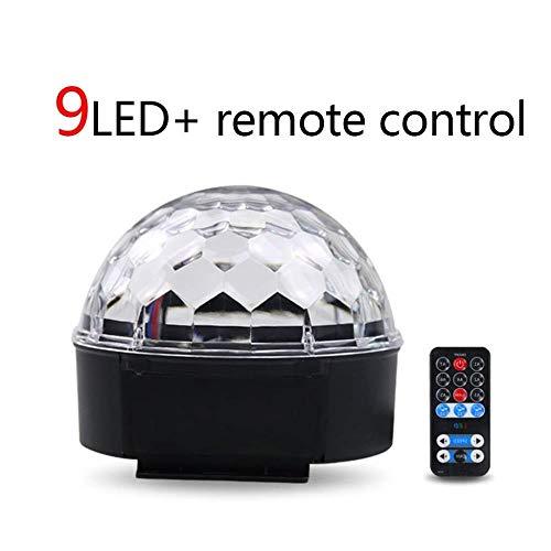 2PCS Bühnenlicht 12 LEDs RGBW Mini Par Can DMX512 Remote DJ Show KTV Party Licht