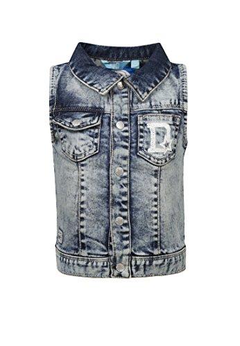"""Lief! Lief! Weste Jeans Jungen extra Light Blue Denim,74"""",""""Blau Baby, Kinder"""