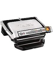 Tefal GC712D OptiGrill contactgrill - Automatische aanpassing grilltemperatuur en baktijd - 6 programma's