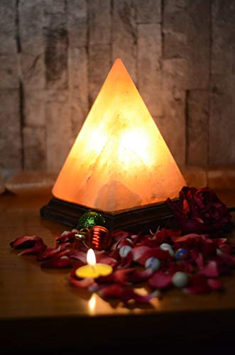 Natural Himalayan Salt Lamp Rock Crystal Pink Lamp Natural Glow Pink Salt...