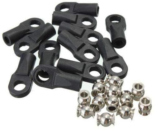 M4 rod end ball joint kit for DIY kossel 3D printer Rostock Kossel 3D Printer TRAXXAS Rod Ends w/Hollow Balls L 3D Printer Parts