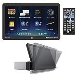 Dual Electronics XVM1000UI XVM1000UI 10.1-Inch Single-DIN Mechless AM/FM Receiver with Bluetooth