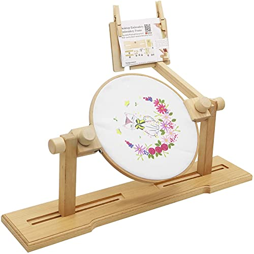 Embroidery Stand, Size Adjustable Cross Stitch Floor Stand guofa...