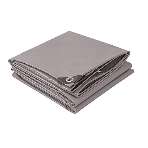 WZNING Verdicken Außen Canopy LKW Gazebo Dach Sonnenschutz Shade Regendicht Multifunktions-Persenning Langlebig und schützend (Color : Gray, Size : 2MX3M)
