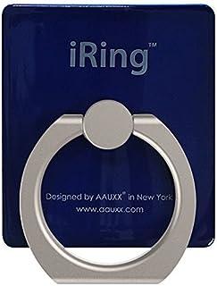 AAUXX(オークス) iRing スマホ落下防止 セーフティグリップ&ポータブルスタンド ネイビー