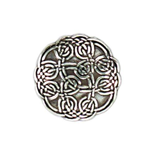 Intricate Celtic Screw Back Concho - 1 1/4'