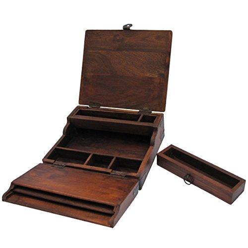 Treasure Gurus Antique Style Writing Lap Desk