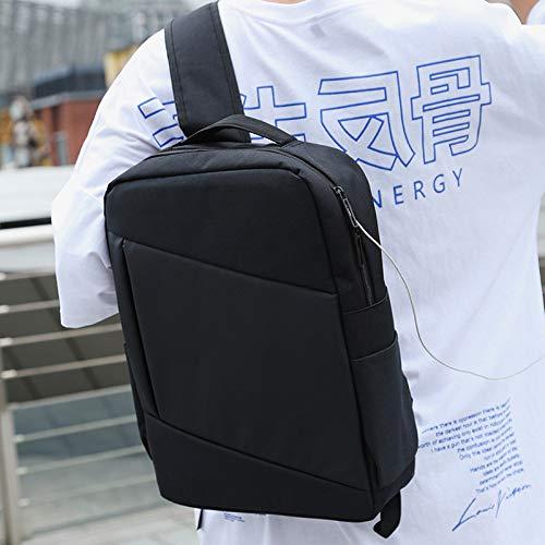 LHLHM Sac À Dos Hommes Business Backpack Junior High School Female Student Computer Bag Grande Capacité Sac À Dos Étanche