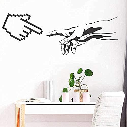 Vinilo mural impermeable autoadhesivo etiqueta de la pared arte geek Adam creación...