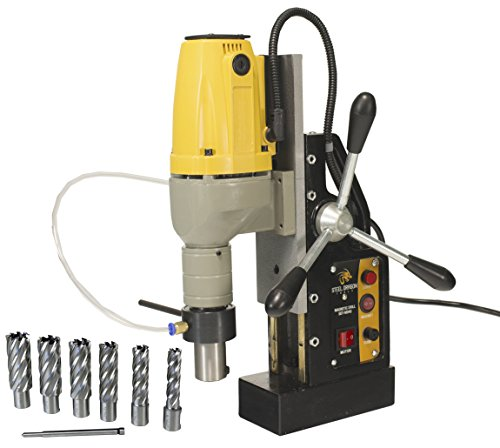 Steel Dragon Tools MD40 Magnetic Drill with 7pc 2in. HSS Annular Cutter Kit