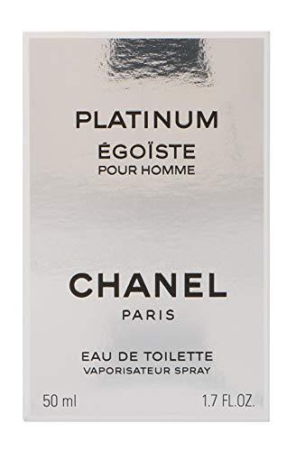 Chanel Egoiste Platinum Homme/Men, Eau de Toilette, Vaporisateur/Spray, 1er Pack (1 x 50 ml)
