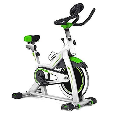 Cubierta de bicicleta de ejercicios, entrenamiento Cardio Magnética Bicicleta estática, Asiento ajustable Manillar Características Velocidad Tiempo Distancia Calorías máximo de capacidad de carga 330l