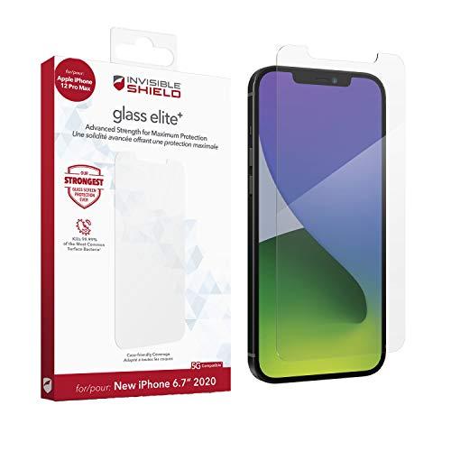ZAGG - InvisibleShield Glass Elite Plus - Protezione massima per Apple iPhone 12 Pro Max