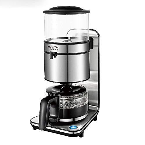 YHML Automatische Tropf-Kaffeemaschine 1800W Edelstahl Elektro-Kaffee Topf Extraktion American Coffee Machine Consumer and Commercial 1.25l
