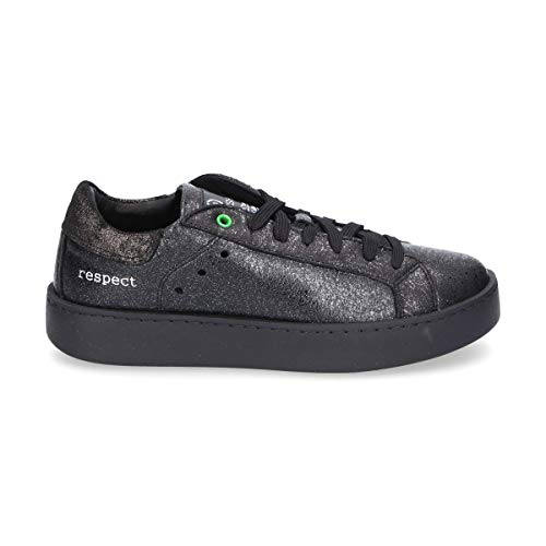 WOMSH Sneakers Donna C270901 Pelle Nero