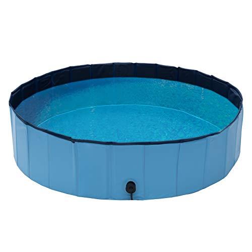 Qeedo Quick Pool, faltbar (120 cm) - Hundepool, Katzen Planschbecken