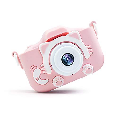 デジタルカメラ 子供用カメラ キッズカメラ 子供がスマホのカメラ 可愛いデジタルカメラ 自撮可能 2000万画素 2インチ IPS画面 4倍ズーム USB充電 ミニカメラ 子供プレゼント男女兼用(32GSDカート付き)