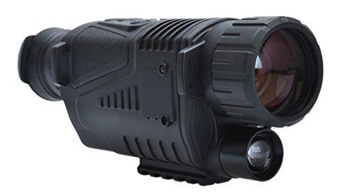 insun día y noche visión cámara Digital prismáticos infrarrojos espía 5x 40mm