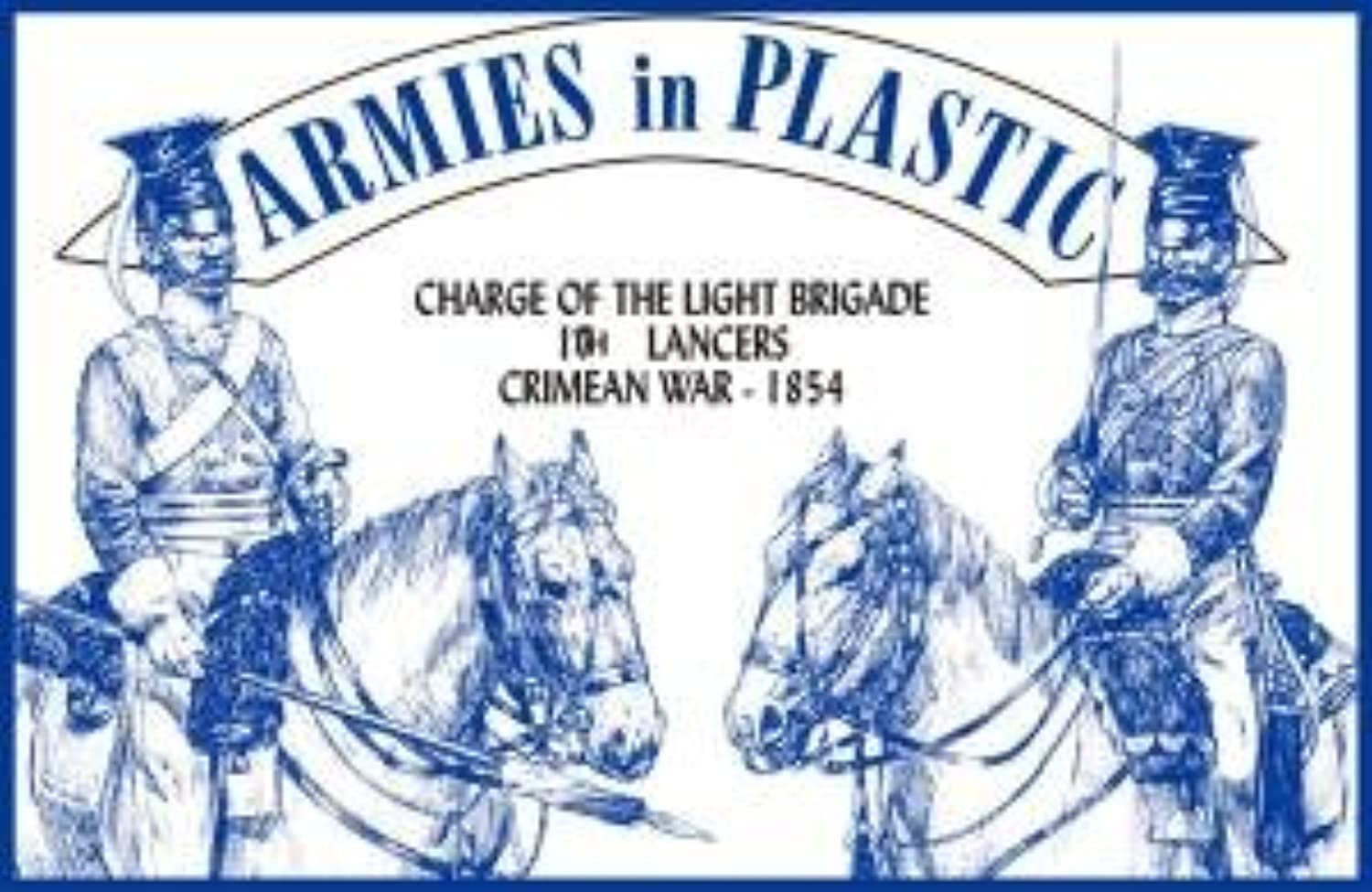 Crimean War 1854 17th Lancers Charge of the Light Brigade (5 Mounted) 1 32 Armies in Plastic