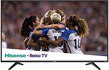 hisense. Pantalla 50R6E Smart TV 4K ROKU 60Hz (Renewed)