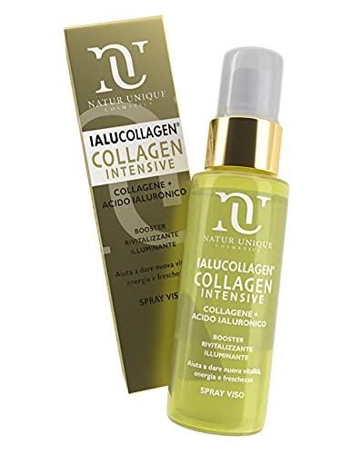 Natur Unique Ialucollagen Intensive Spray Viso 50 ml con Acido Ialuronico e Collagene