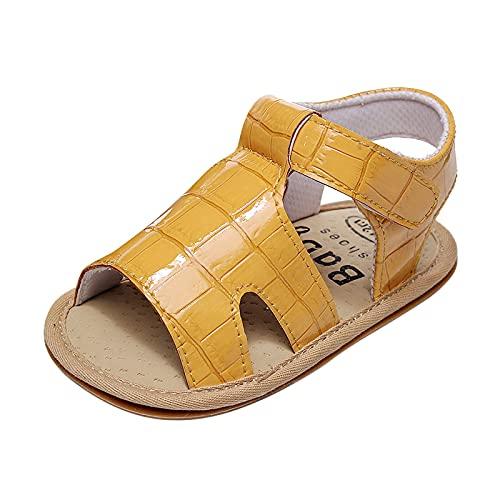 YWLINK Zapatos Para NiñOs PequeñOs Antideslizantes De Suela Blanda Para Hombres Y Mujeres Sandalias De Cuero,Sandalias Deportivas Sandalias De Playa De Verano Zapatos Casuales De Suela Blanda