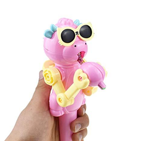 GreatFun Creativa Lollipops Artifact Comidas Divertidas Lollipop Robot Holder Soporte Regalos Juguete descompresión Juguete Tienda azúcar Novia Amante Dar a los niños Buenos Ingredientes sin Olor a
