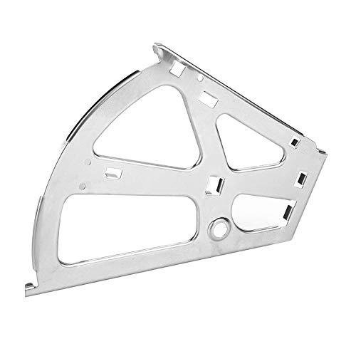 Yagosodee 1 par de accesorios para armarios de cajones con bisagras de marco para torneado móvil (2 capas)