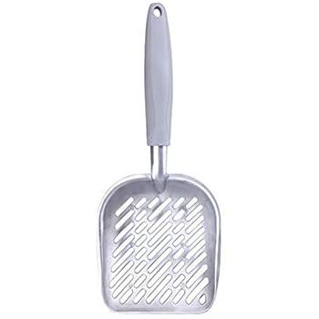 milopon Litière agglomérante Cuillère pelle à litière en métal pour gris