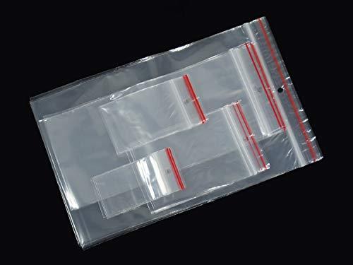 100 Tütchen Polybeutel 120 x 170 Druckverschluss Druckverschlussbeutel Zip Tüten