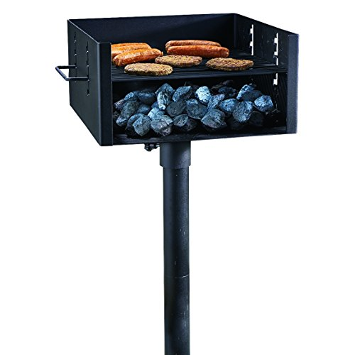 Guide Gear Heavy-Duty Park Style Charcoal Grill, Large
