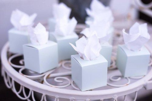 Marry & You Freudentränen Taschentücher, 50 Stück Farbe Mint, Taschentücher freudentränen,