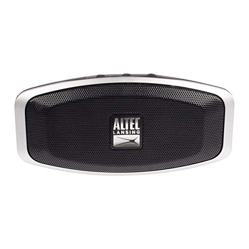 Altec Lansing Versa Porta Wireless Bluetooth Speaker | Portable Wireless Speaker, 6 Hour Battery Life, IPX7 Waterproof Rating, Compatible with Apple, Android, Tablets, and Laptops (Black)