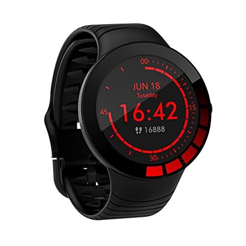 Reloj Inteligente, Monitor de Actividad física de 1,28'con pasómetro y Monitor de frecuencia cardíaca, Impermeable IP67 Smart Watch con múltiples Modos Deportivos para Hombre Mujer