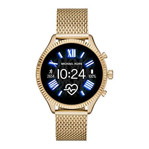 Michael Kors Reloj Digital para Mujer de Pantalla táctil con Correa en Acero Inoxidable MKT5113