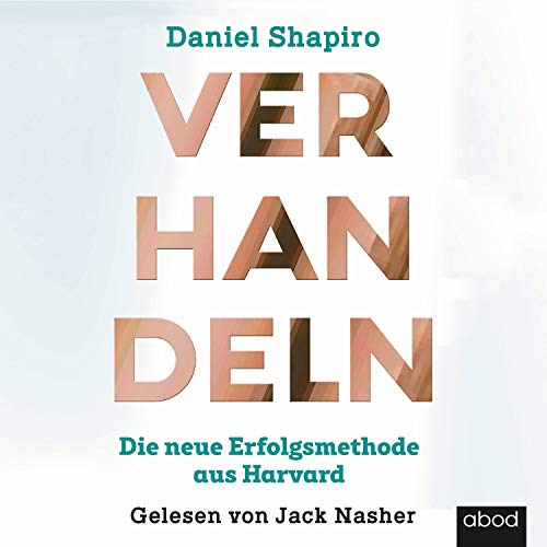 Verhandeln audiobook cover art