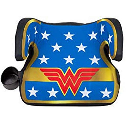 KidsEmbrace Backless Booster Car Seat, DC Comics Wonder Woman