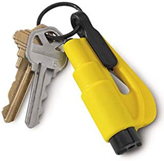 ResQMe Keychain Rescue Tool - color: Yellow