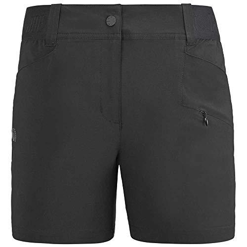 Millet - Wanaka Stretch Short II W - Short para Mujer - Transpirable - Senderismo, Trekking, Día a día - Negro