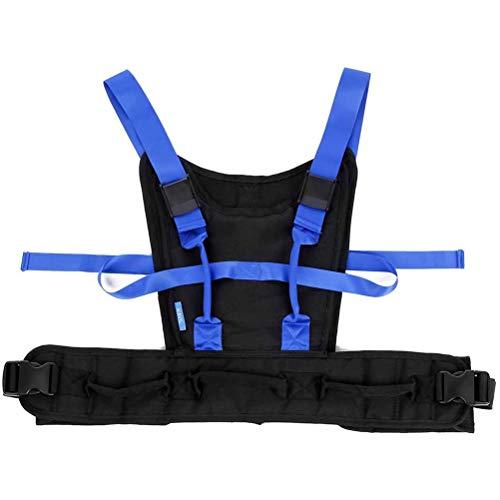 RGHS Tablero De Transferencia De Cinturón De Marcha, Eslinga De Elevación Médica Cinturones De Agarre De Puerta para Caminar De Asistencia para Ancianos, Cinturón De Marcha para Bariátrico 🔥