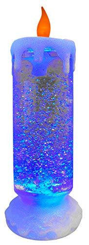 MIK funshopping Lámpara LED con purpurina (24 cm)
