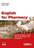 English for Pharmacy. Con CD Audio [Lingua inglese]