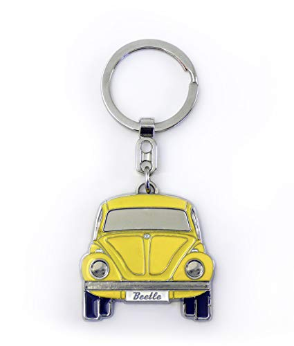 BRISA VW Collection Volkswagen Kever Sleutelhanger in Gift Tin - Geel