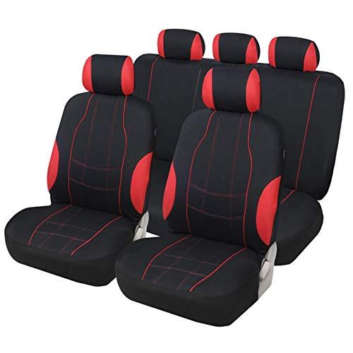 Los asientos coche conjuntos cubiertas resistentes